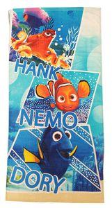 Findet Dorie Handtuch mit Hank, Nemo, Dory Blau für Kinder
