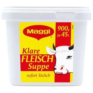 Maggi Klare Fleischsuppe intensiv kräftig Großpackung für Gastro 900g