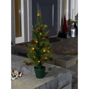 weihnachtsbaum mit Lichtern 60 cm grün