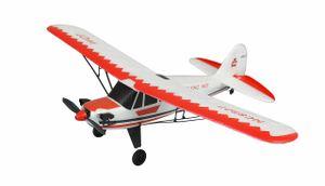 Piper J-3 CUP rot/weiß, 3 Kanal RTF, Gyro, Mode 2