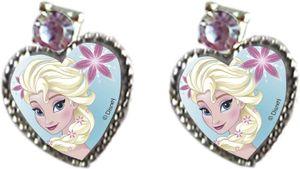 Die Eiskönigin Ohrstecker in Herzform mit Elsa Ohrring Ohrringe Frozen