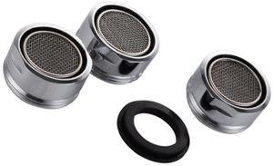 3 Stücke Strahlregler M24 Wasserhahn Sieb Perlatoren für Wasserhähne Wasserhahn Einsatz mit Dichtung 304 Edelstahl für Küche Bad Bath Room Zubehör