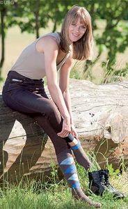 USG Damen Vollbesatz Reithose SARA braun, 46