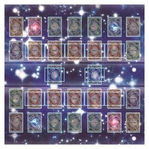 Gummi Spielmatte 60x60cm Galaxy Style Competition Pad Spielmatte Fš¹r Yu-gi-oh Karte