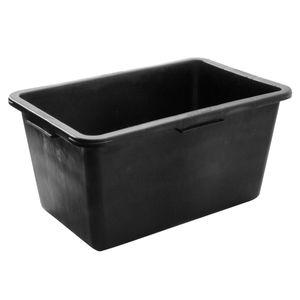Mörtelkübel schwarz 90 Liter Mörtelwanne Mörtelkasten Zementkübel Baueimer