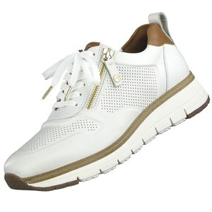 TAMARIS PURE RELAX Damen Sneaker Leder Weiß, Schuhgröße:EUR 40