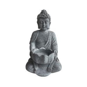 HTI-Line Teelichthalter Buddha 2 HTI-Line