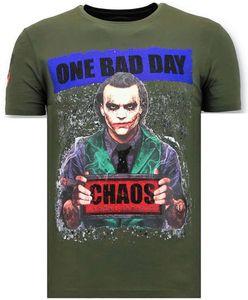 T- Shirt- Die Joker-Mann - Grün - XL