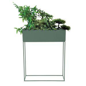 Pflanzkasten Blumenständer 55x20x70cm Grün (Dill Green)