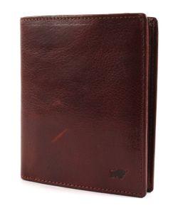 Braun Büffel Arezzo Geldbörse Farbe Tabak RFID Schutz Leder Portemonnaie Geldbeutel