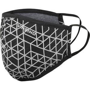 VINGINO Kinder Jungen Mundschutz Alltagsmaske Stoffmaske Mundschutz Maske deep black onesize