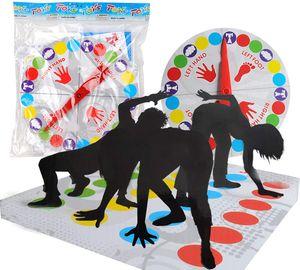 Twister Spiel, Kinderspiel, Spielmatte Bodenmatte Familienspiel, Partyspiel für Familien und Kinder, lustiges Spiel Geschicklichkeitsspiel für Kinder Kinderspiel