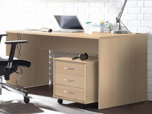 """Schreibtisch Bürotisch Computertisch Arbeitstisch Tisch Büromöbel """"Olli I"""" Buche"""