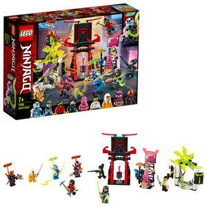 LEGO 71708 NINJAGO Marktplatz, Minifiguren-Set mit Digi Jay, Avatar Pink Zane und Avatar Harumi (inkl. 9 Minifiguren)