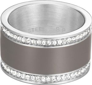 Esprit Jewel Classy ESRG12429A Ring Mit Kristallsteinen, Ringgröße:53 / 6.5 / S / 17mm