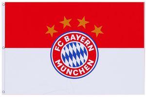 FC Bayern München Hissfahne Logo ca. 180 x 120 cm