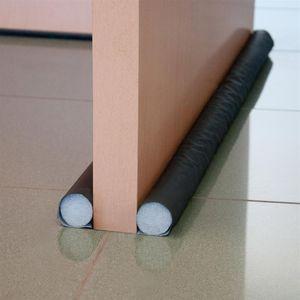 MSV Zugluftstopper Türstopper Zugluftstop für Tür und Fenster Zuschneidbare Türbodendichtung für Schutz vor Zug und Lärm - 1m