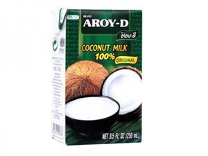 Aroy-D Kokosnussmilch 250 ml Kokosmilch Coconut Milk