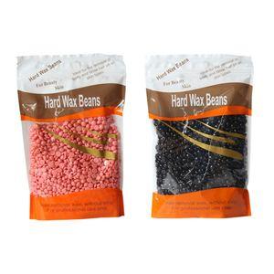 2 Stück 100g Wachs Haarentfernung Hard Wax Beans Hartwachsbohnen Beads Waxing Pearls Heisswax Hotwax
