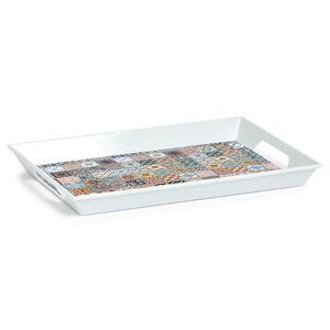 Küchentablett MOSAIC aus Melamin, 50 x 35 x 5 cm, ZELLER - ZELLER