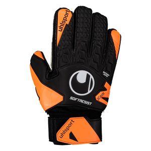 uhlsport Soft Resist Flex Frame Torwarthandschuhe mit Fingerschutz schwarz/fluo orange/weiß 6