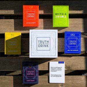 5 in 1 Truth or drink Party Spielkarten Trinkspiel Partyspiel