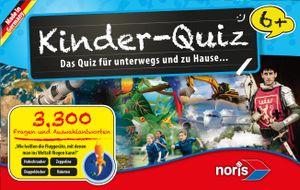Noris Spiele Kinderquiz für schlaue Kids blau; 606013596