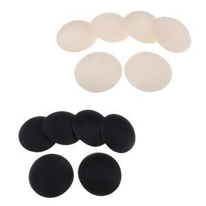 6 Paar runde Brustwarzenabdeckung BH Pads BH Einlagen Cup Schwamm geeignet für A, B, C und D Körbchengröße