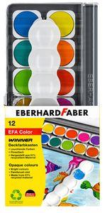 Eberhard Faber Deckfarbkasten Winner, 12 Farben