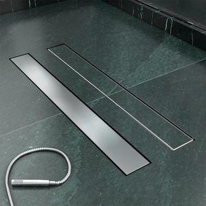 Duschrinne SONNI Edelstahl Abfluss Befliesbar 70cm Duschablauf Badezimmer Bodenablauf