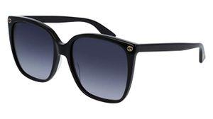 Gucci GG0022S-001 Sonnenbrille Scharwz