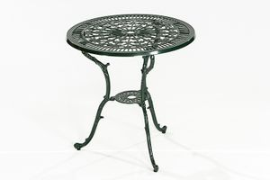 Merxx Lugano Tisch, Ø 70 cm, grün + - Farbe: grün; 21112-214