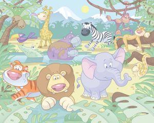 Fototapete Babyzimmer Dschungel Safari