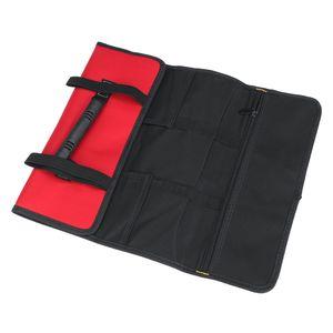 Profi Werkzeugrolle Werkzeugrolltasche Taschen Toolkit Rolltasche 22 Fächer -Rot