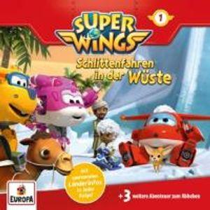 Super Wings-001/Schlittenfahren in der Wüste