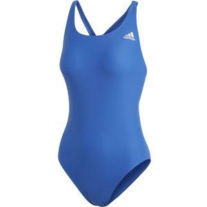 adidas Badeanzug Damen aus recycelten Nylon chlorresistent, Farbe:Blau, Damen Größen:46