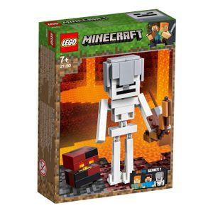 LEGO® Minecraft™ Minecraft™-BigFig Skelett mit Magmawürfel, 21150