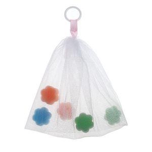 Seifensäckchen Seifennetz Seifenbeutel Seifensack Exfoliating Beuteltasche für Seifen Seifenreste zum Aufschäumen, Gesichtsreinigung, -H02