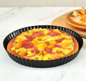 Torteletteförmchen Obstkuchenform Quicheform mit Hebeboden Tarteform Ø 20 cm