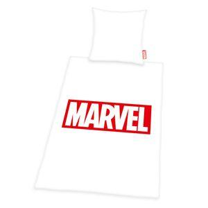 Marvel - Marken Bettwäsche, 100% Baumwolle ( Renforcé ), 80x80 + 135x200 cm
