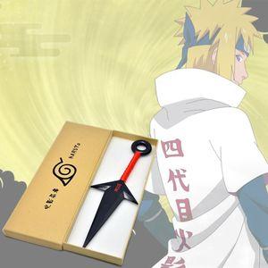 1 Teile/los Anime Naruto Kunststoff Kunai Ninja Requisiten Zubehör Spielzeug 26.5cm@#Rot
