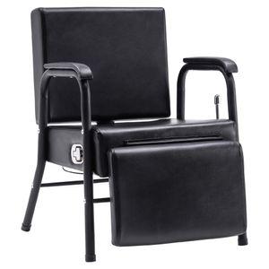BarberPub Rückwärtswaschsessel Shampoo Chair  Salon Einrichtung 8145BK
