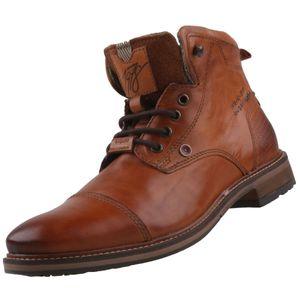 bugatti Herren Stiefel  Braun, Schuhgröße:EUR 43