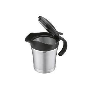 GEFU 89418 GEFU Thermo-Sauciere Treat, silber/schwarz