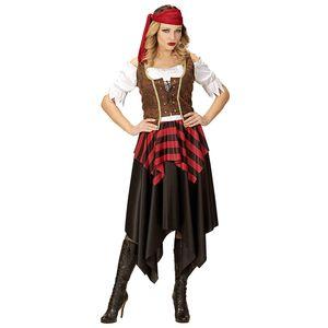 Widmann - Erwachsenenkostüm Piratin