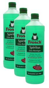 Frosch Spiritus Glas-Reiniger (3 x 1 l Flaschen)