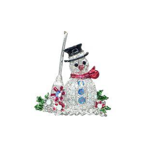 Goebel Fitz & Floyd Christmas Collection 'Brosche - Schneemann'