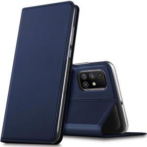Handy Hülle Samsung Galaxy A51 Book Case Schutzhülle Tasche Slim Flip Cover Etui