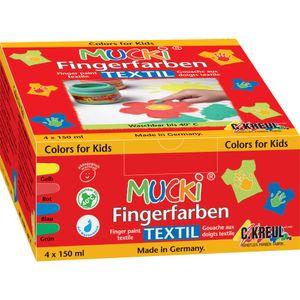 MUCKI Fingerfarbenset Textil 201300258
