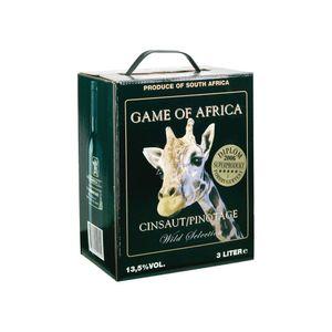 Game of Africa Cinsault Pinotage Trocken 14% 3,0L BIB (SA)